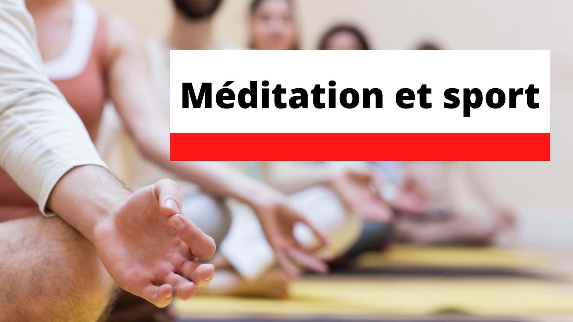 méditation sport