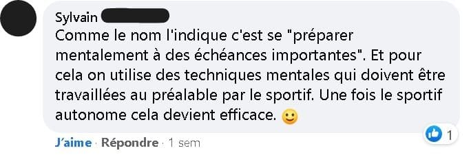 préparation mentale Sylvain