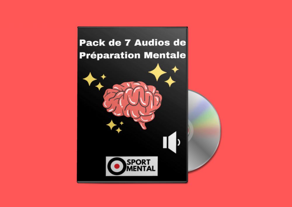 pack de 7 audios de préparation mentale